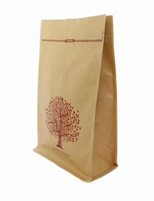 Craft Paper Coffee Bags Kraft